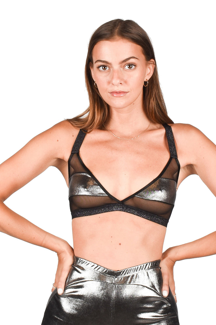 Lana Bralette Silver | SOI. Collection