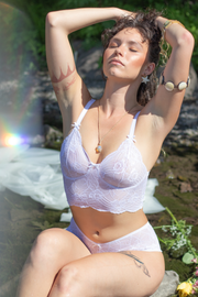 Chloris Cami White | Made in Montreal