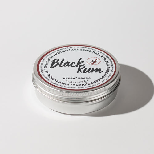 Black Rum Beard Wax