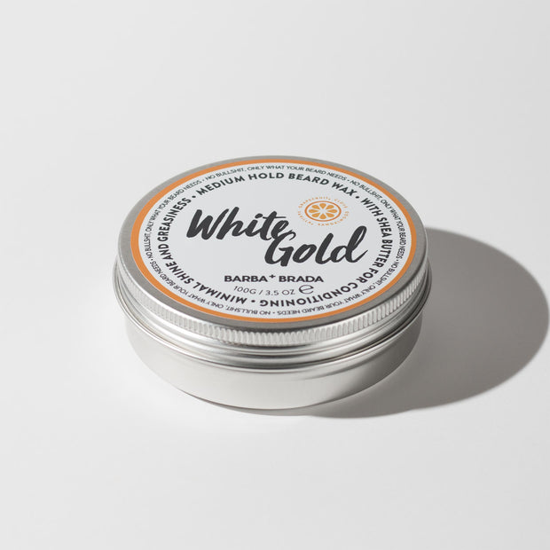 White Gold Beard Wax