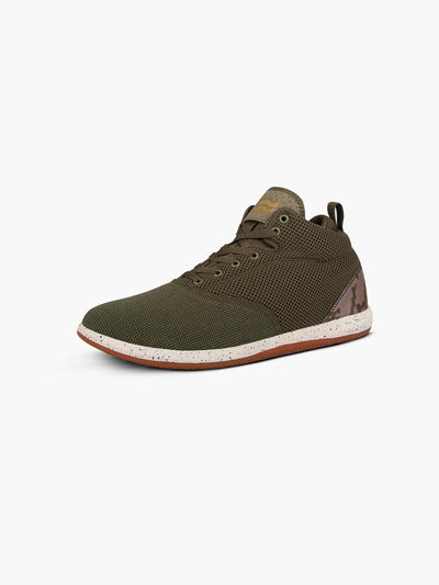Strike Movement Chill Pill Mid AF mid-rise training shoes in Army Green