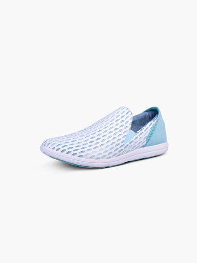 Strike Movement Traveller slip-on shoes for broad-spectrum performance in White Dimensional Mesh