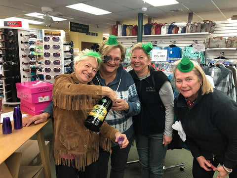 St. Patrick's Day Party at Blooming Boutique