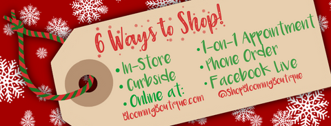 6 Ways To Shop at Blooming Boutique