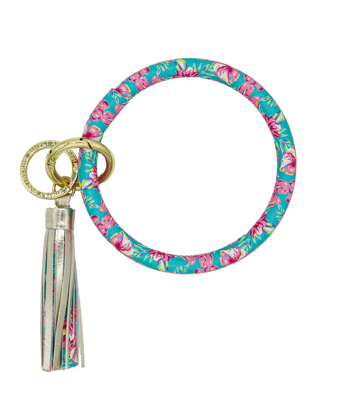 Simply Southern Tropic Bangle Key Ring