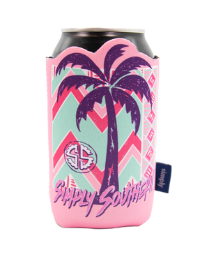 Simply Southern RTR Palm Tree Can Koozie