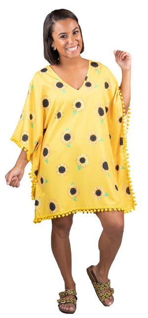 Simply Southern Sunflower Yellow Cover-up