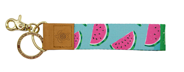 Simply Southern Watermelon Keychain