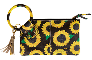 Simply Southern Sunflower Bangle Wristlet