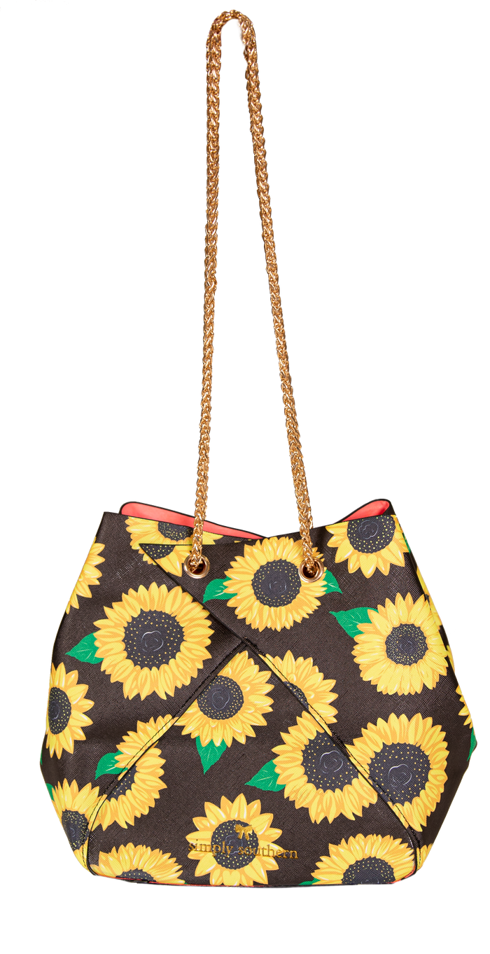 Simply Southern Sunflower Bunchy Bag