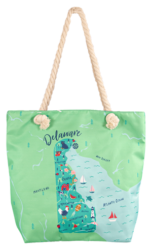 Simply Southern Delaware Canvas Bag