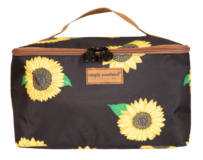 Simply Southern Sunflower Glam Bag