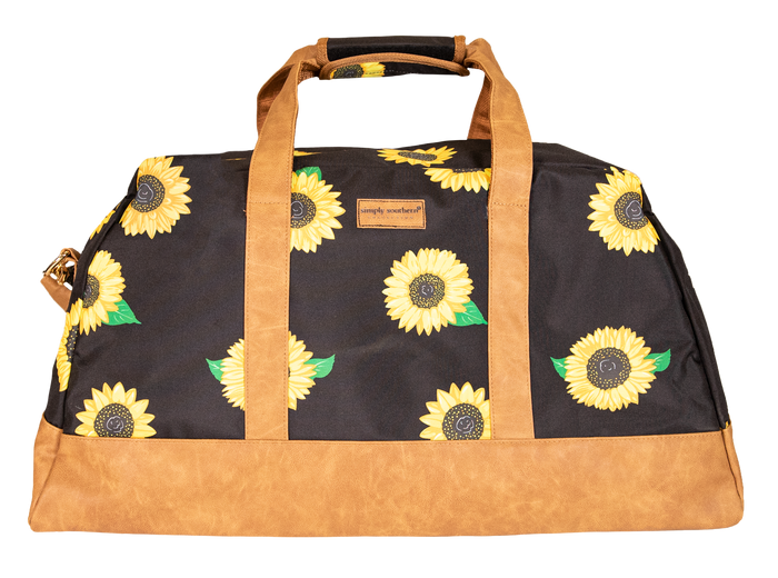 Simply Southern Sunflower Travel Bag