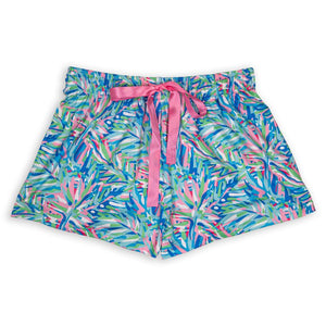 Simply Southern Lounge Shorts-Abstract
