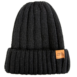 Simply Southern Cuffed Beanie Dark Grey