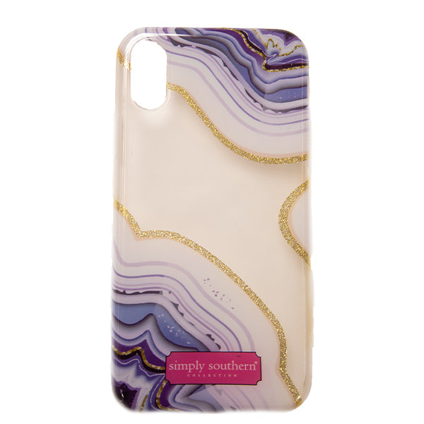 Simply Southern Sparkle Agate iphone Case