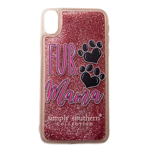 Simply Southern Fur Mama iphone Case