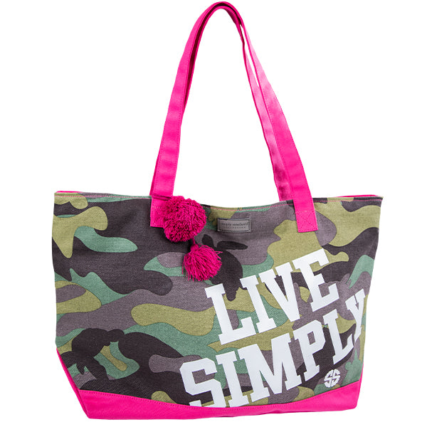 Simply Souther Camo Tote