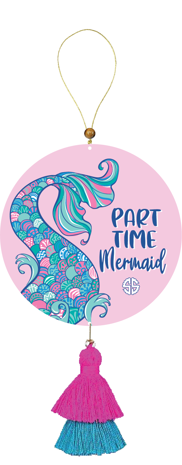 Simply Southern Air Freshener-Mermaid
