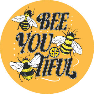 Simply Southern Bee You Car Coaster