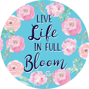 Simply Southern Bloom Car Coaster