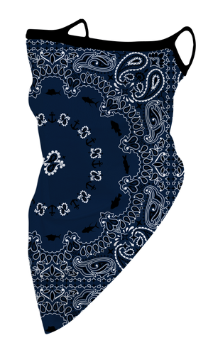 Simply Southern Fashion Cover-Navy Bandana