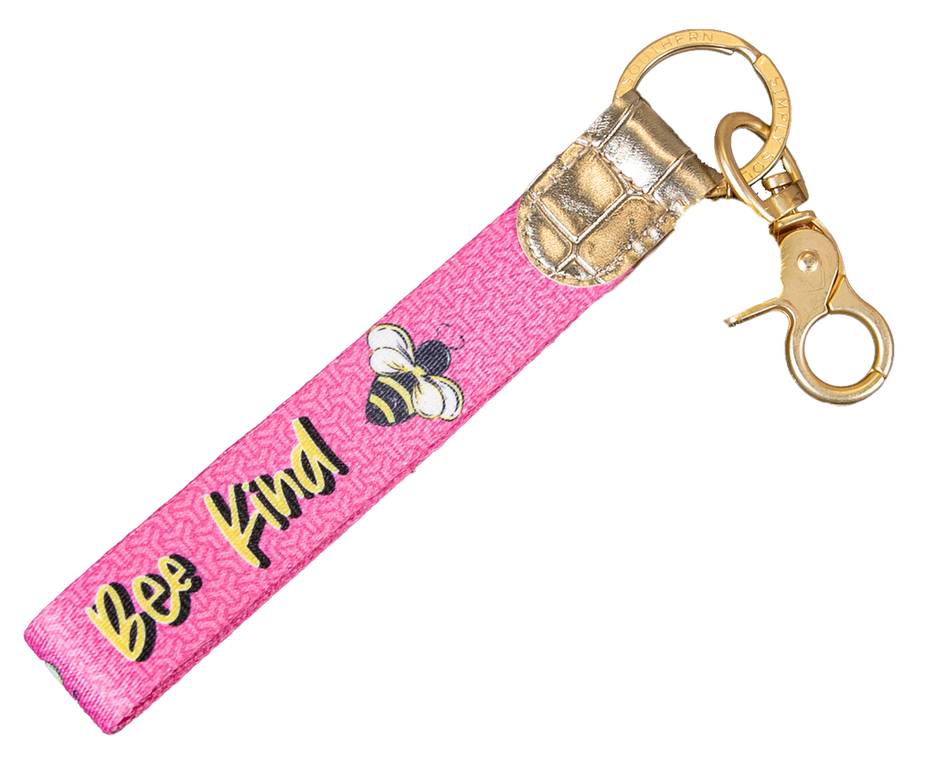 Simply Southern Key Fob-Bee Kind