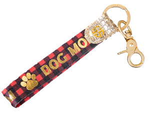 Simply Southern Key Fob-Dog Mom