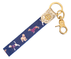 Simply Southern Key Fob-Dog