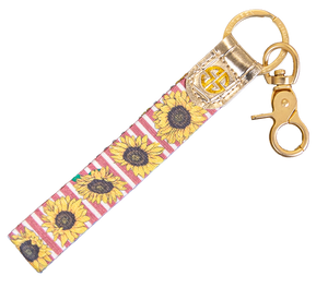 Simply Southern Key Fob-Sunflower