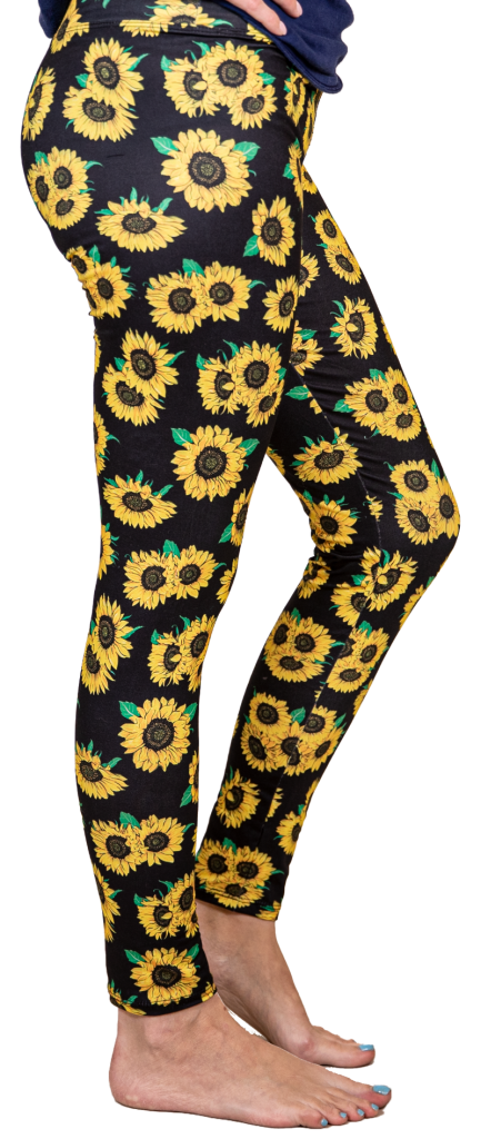Simply Southern Leggings-Sunflower