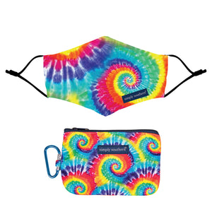 Simply Southern Mask and Pouch-Tie Dye