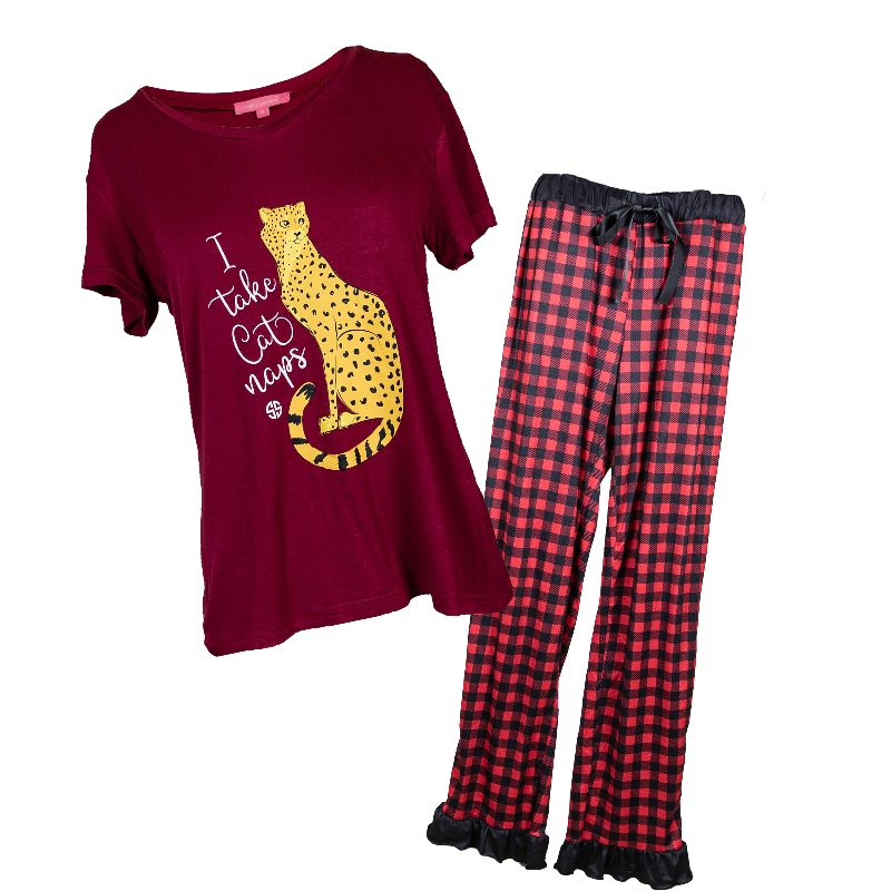 Simply Southern Adult PJ Set-Cat