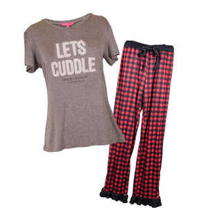 Simply Southern Adult PJ Set-Cuddle