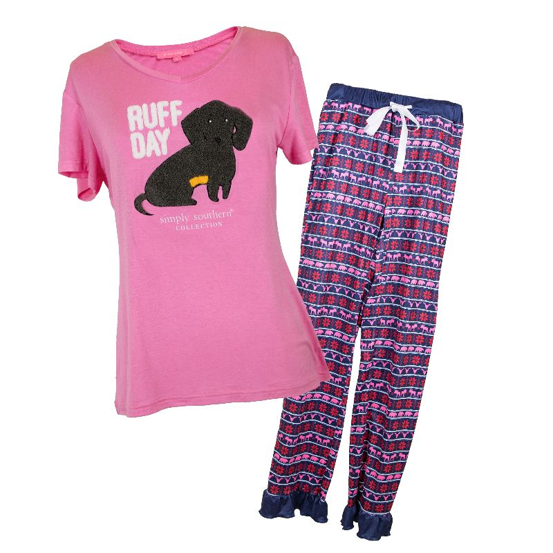 Simply Southern Adult PJ Set-Ruff