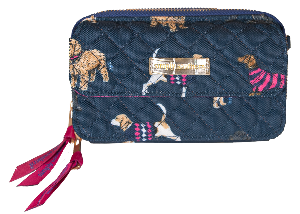 Simply Southern Phone Wristlet/Crossbody-Dog