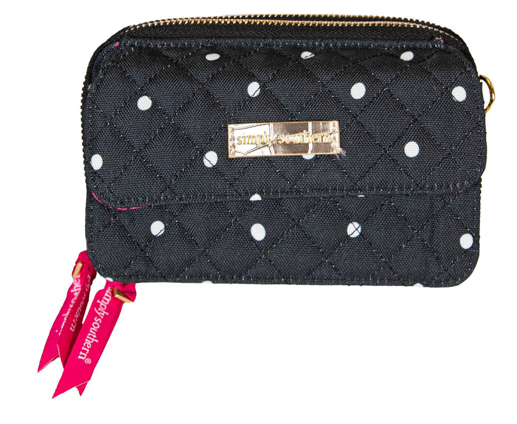 Simply Southern Phone Wristlet/Crossbody-Dots