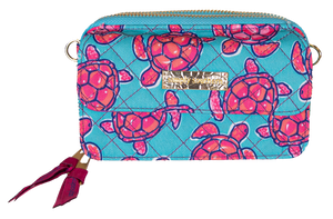 Simply Southern Phone Wristlet/Crossbody-Turtle