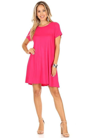 Chris and Carol Pink Tee Dress