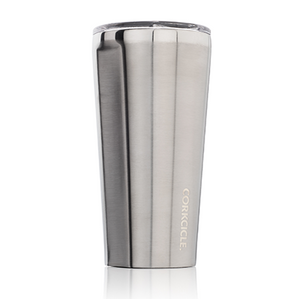 Brushed Steel 16oz Corkcicle Tumbler