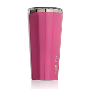 Gloss Pink 16oz Corkcicle Tumbler