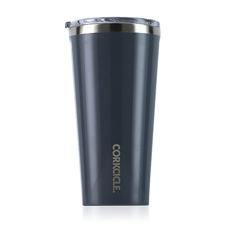 Gloss Graphite 16oz Corkcicle Tumbler