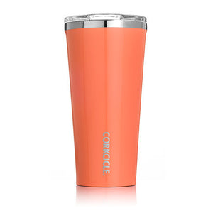 Gloss Peach Echo 16oz Corkcicle Tumbler