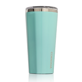 Gloss Turquoise 16oz Corkcicle Tumbler