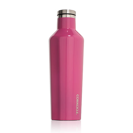 16oz Corkcicle Canteen, Gloss Pink