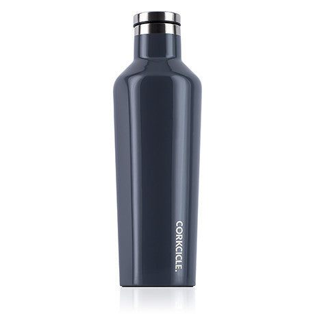 Gloss Graphite 16oz Corkcicle Canteen