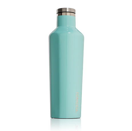 Gloss Turquoise 16oz Corkcicle Canteen