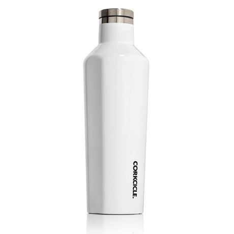 Gloss White 16oz Corkcicle Canteen
