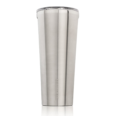 Brushed Steel 24oz Corkcicle Tumbler