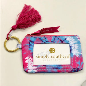 Simply Southern Tie Dye Key ID Holder